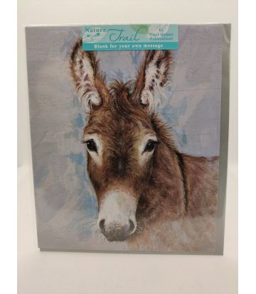 Nature Trail Donkey Card