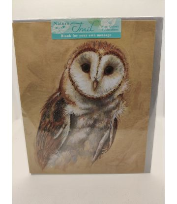Nature Trail Owl Card
