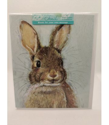 Nature Trail Rabbit Card